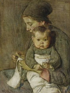 It's About Time: Life as seen by American artist Elisabeth Nourse 1860-1938
