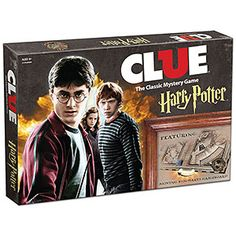 Harry Potter Clue is sure to provide hours of fun as you hunt for suspects. Surprisingly He Who Must Not Be Named isn't on the list! Guess that would make it too easy.