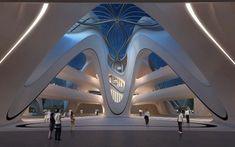 Le projet titanesque de Zaha Hadid Architects en Chine