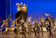 The Lion King Musical ~ Animals of Pride Rock