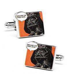 Look what I found on #zulily! 'Beware the Dark Side' Graphic Cufflinks #zulilyfinds