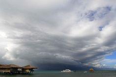 Palafitte nel Mar Cinese |#Filippine