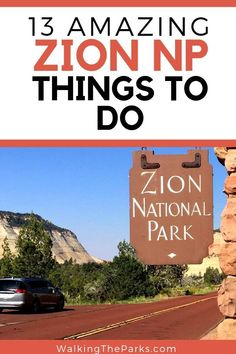 It can be a challenge to create your Zion National Park Itinerary with so many amazing choices. Here's our top list of things to do in Zion. Monument National Park, National Park Camping, National Park Tours, National Parks Usa, Hiking The Narrows, National Park Passport, Utah Vacation, Utah Camping, Monuments