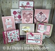 stampin up bloomin' love | Love Blossoms, Stampin' Up!, BJ Peters, Bloomin' Heart: Stampinup ...