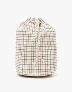 Canvas Sling in Natural Grid
