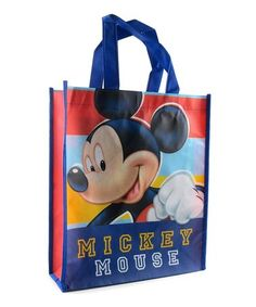 This Mickey Mouse Shopper Tote is perfect!  zulilyfinds Disney On Ice,  Disney Mickey d08c90894a