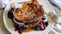 3 Energizing Breakfast Recipes Inspired by the Mediterranean Diet   Learn how to make sprouted cinnamon-maple French toast; a nut butter with the flavors of Baklava; and a twist on Greek salad, topped with a savory egg
