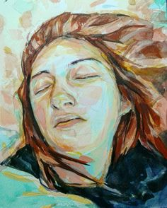 Vaso, by Kokoris Watercolors, Illustrations, Portrait, Drawings, Artwork, Artist, Painting, Sketches, Art Work