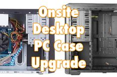 So you want to upgrade your desktop PC by moving it all into a fancy new case? Maybe one with a window and LED lighting or even just a case with more hard drive and PCI slot bays. No problem! Your Bandito will come to your home or office and move all of the components from your old case to your new case with some nice clean cable management to boot.