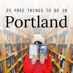 If you're looking for a way to explore Portland on a budget, check out this list. Here are 25 free things to do in Portland Oregon.