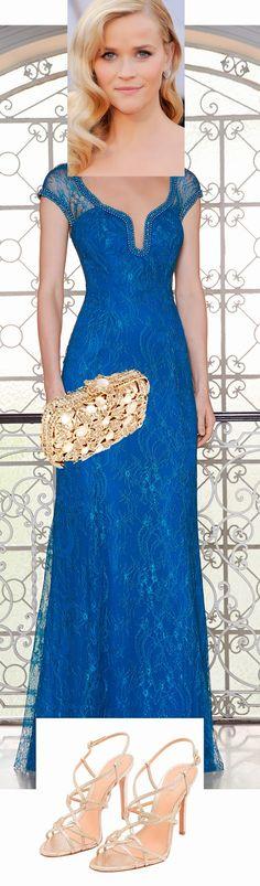 Maquiagem, sandália e bolsa para usar com vestido de festa azul - Madrinhas de casamento
