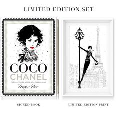 Coco Chanel: The Illustrated Life of a Fashion Icon Set - Megan Hess