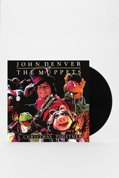 John Denver & The Muppets - A Christmas Together LP. One of the best albums of all time, Christmas or otherwise! This is a Teichman go-to for holiday cheer.