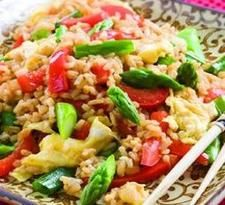 Weight Watchers Points Plus Recipes - Vegetable Fried Rice -