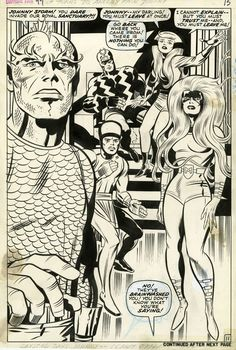 FF_11Fantastic Four #99.  Jack Kirby with Joe Sinnott inks.  To think I came thisclose to having my work inked by Sinnott.  Sob.