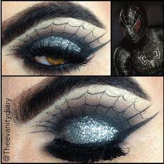 Black SpiderMan! On the lid is sephora shadow in moon glow.on top is @masquerade_cosme... | Use Instagram online! Websta is the Best Instagram Web Viewer!