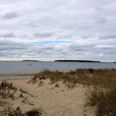 A chilly, fall morning at Mayo Beach in Wellfleet on Cape Cod. This is just down the beach from our cottage!
