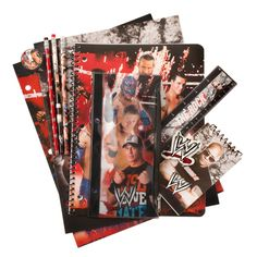 WWE Superstars school supplies pack at WWE Shop for back to school.