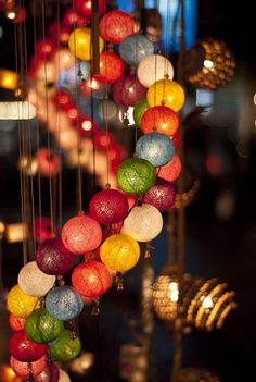 Tips and advice for outdoor lighting Ideas For Your Garden or Your Porch, 9900319052 Ball Lights, Party Lights, Cute Wallpaper Backgrounds, Cute Wallpapers, Outdoor Party Lighting, Lighting Ideas, Twinkle Lights, Creative Photography, Light Colors
