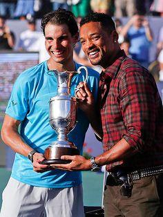 29fdb57897 Will Smith posó junto a Rafael Nadal en Buenos Aires después de que el  tenista español