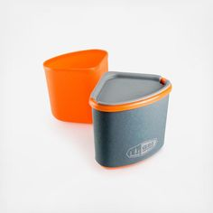 GSI Outdoors' incredible, space-saving, insulated cup and bowl is the perfect hybrid solution. The mug slips easily into the bowl when you're ready to pack it up and head down to civilization. It also nests within nFORM Crossover and Destination 2 liter pots.  Includes:  14 fl. oz. Mug with an insulated sleeve 14 fl. oz. Bowl Sip-it top feature