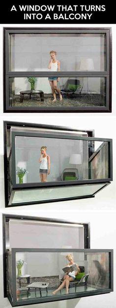 A window like no other…