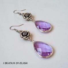 Wonderful and really elegant earrings!😍 Not only lilac, discover all the available colors!
