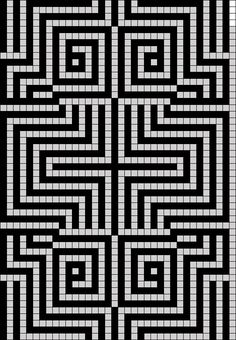Diy Crafts - Created by in Grid Paint Bead Loom Patterns, Mosaic Patterns, Beading Patterns, Embroidery Patterns, Quilt Patterns, Crochet Patterns, Graph Paper Drawings, Graph Paper Art, Cross Stitch Designs