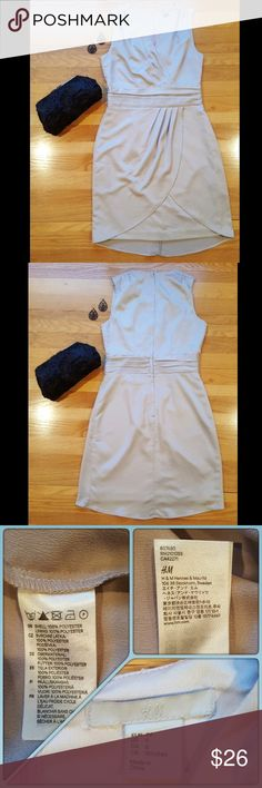 """H&M Dress Cute tulip skirt on this two-toned dress. From when H&M """"made good things"""" according to my sister. 😂 Fully lined. In excellent used condition. Make me an offer. Discount on bundles of 2 or more. H&M Dresses Midi"""