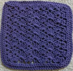 snapdragon washcloth very simple and quick to make great instructions also makes for
