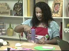 Edna Masan - Participação no Canal do Artesanato 16/03/2011 - Parte 1