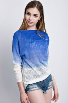 Ombre High-low Sweater#Sweaters#Women Sweaters#Fashion Sweaters#Women Fashion# Autumn Fashion Sweaters#Must-have  Sweaters # High Low Sweaters# Autumn Fashion Trends#OASAP