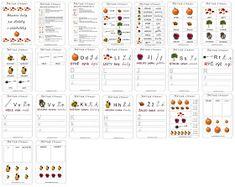 Pro Dětské stránky jsem vytvořila 23 stránkovou knížku na téma PODZIM v  duchu Montessori. Dávám ke stažení i sem (po kli...