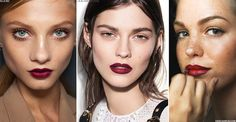 The New Way To Wear A Vampy Lip | sheerluxe.com