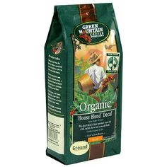 Green Mountain Coffee Decaf Fair Trade Organic House Blend, Whole Bean, 10 Ounce Bag -- Find out more about the great product at the image link. (This is an affiliate link and I receive a commission for the sales)