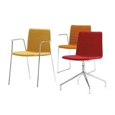 Flex High Back SO1610 SO1632 SI1638 Andreu World chairs and chairs with arms