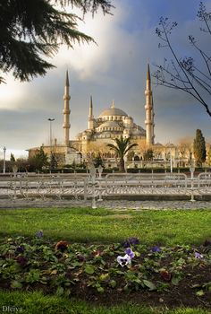 Sultan Ahmed Mosque (The Blue Mosque), Istanbul, Turkey Beautiful Places In The World, Places Around The World, Wonderful Places, Great Places, Places To See, Around The Worlds, Amazing Places, Beautiful Mosques, Beautiful Buildings
