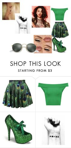 """""""Promise Rova (Glee)"""" by cutegurl112 ❤ liked on Polyvore featuring WearAll and Ray-Ban"""