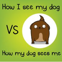 """How I see my dog VS how my dog sees me - The Oatmeal """"...his gross butthole.  It is ever-watchful, like the eye of Sauron."""""""