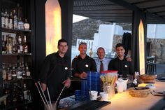 Top team ready to serve  you at the Top of Elia!