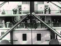 Titanic departure (real video All Olympic, but nice. Rms Titanic, Bateau Titanic, Titanic History, Belfast, Titanic Survivors, Real Video, Modern History, Sink, The Originals