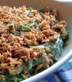 Green Bean Casserole Thanksgiving classic at my house!