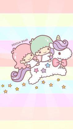 Kiki and Lala riding on a unicorn!