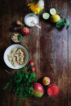 Breakfast in bed - sweet quinoa treat / Marta Greber