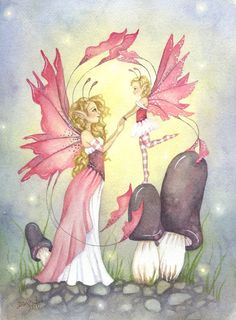The Faerie Folk: Photo Fairytale Fantasies, Fairytale Art, Amy Brown Fairies, Creative Haven Coloring Books, Book Flowers, Unicorns And Mermaids, Goth Art, Dark Fantasy Art, Fairy Art