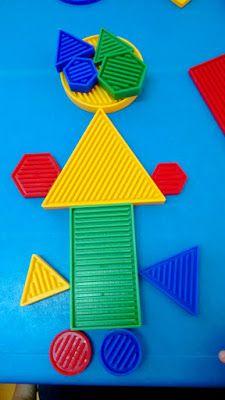 Blogue do Jardim Escola Carrocel: Blocos Lógicos Petite Section, Sensory Bins, Fine Motor Skills, Best Part Of Me, Fun, Geometric Form, Easy Pranks, Kid Activities, Games