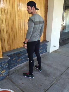 low priced becb9 c224c Athletic leggings (w o shorts). Great for yoga, hiking, and weight training  at the gym.