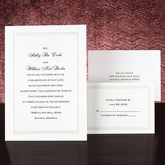 Elegant - Wedding Invitation
