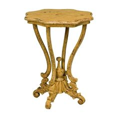 Dijon Side Table in Italian Mustard Yellow ($426) ❤ liked on Polyvore featuring home, furniture, tables, accent tables, european furniture, wooden accent table, italian table, wooden side table and ornate furniture