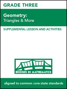 DAILY FREEBIE FROM MLC – Geometry, Set C2: Triangles & More (Grade 3)